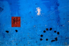 Red Square / Blue Field, Abstract / Main Image