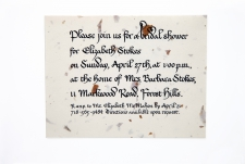 Bridal Shower Invitation/ product view