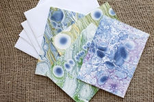 Marbled Note Cards B/ product view