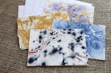 Marbled Note Cards C/ product view