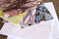 Marbled Note Cards K/ product detail