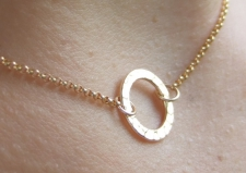 Gold Infinity Necklace / Main Image