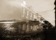 While the Mississippi Sleeps (Sepia)