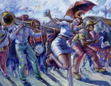 Second Line Sunshine (Detail)