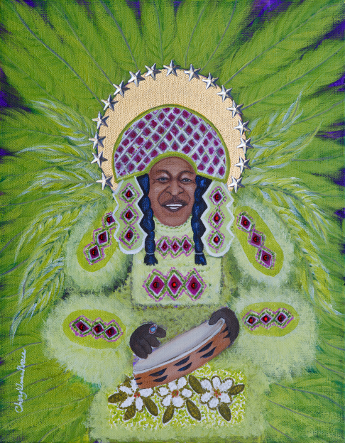 Big Chief Bo Dollis limited edition print