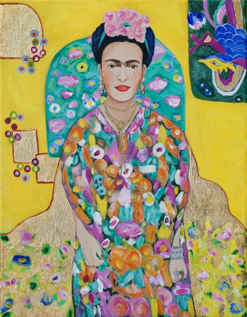 Channeling Klimt: Frida (fine art limited edition print)