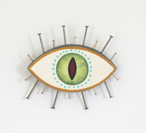 Evil Eye Talisman | Cat Eye - Mini