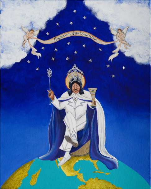 Emperor of the Universe Ernie K-Doe limited edition print