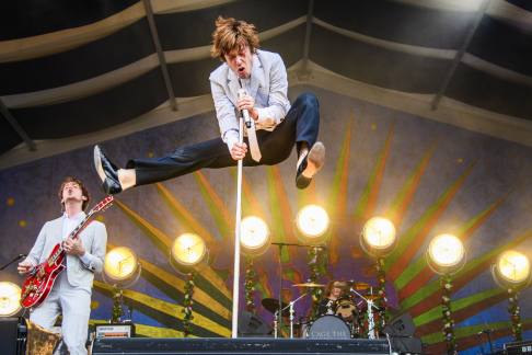 Cage the Elephant at Jazz Fest