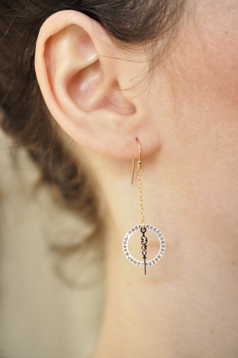 Sun King Earrings