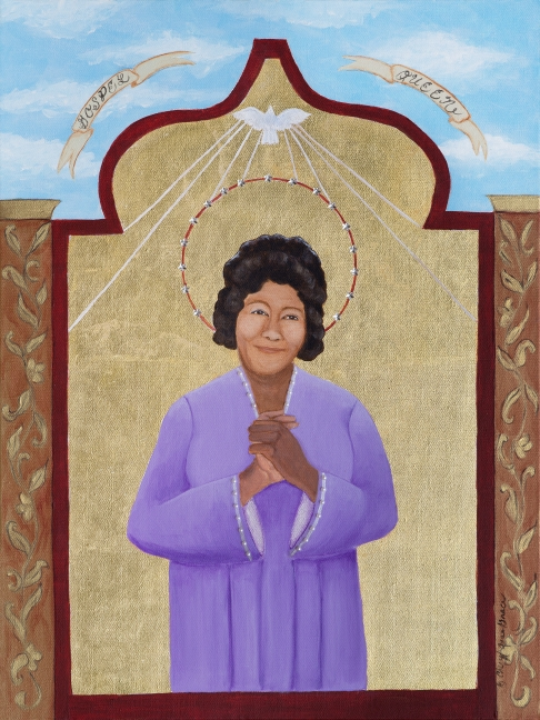 Gospel queen (Mahalia Jackson) limited edition fine art print