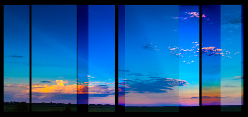 Horizon collage