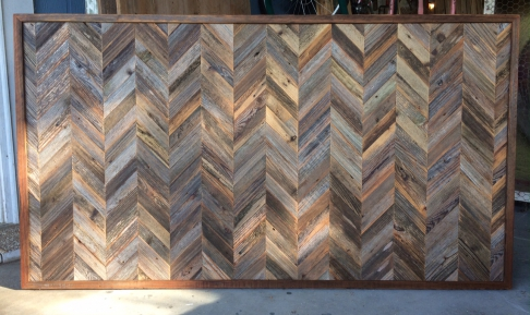 Queen Herringbone Panel