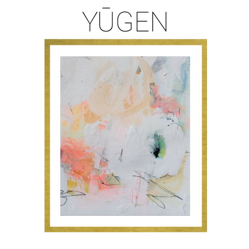 Yugen - Archival Print of Mixed Media Abstract on Watercolor Paper