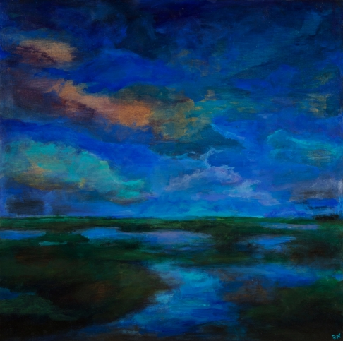 Blue Afternoon (Archival Print)
