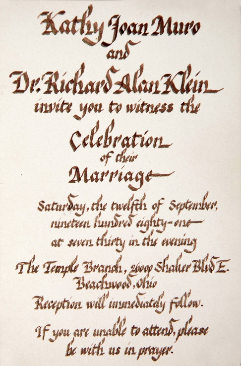 Wedding Invitation C