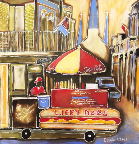 The Lucky Dog Vendor