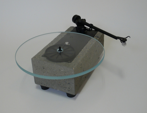 Audiowood El Chunko Turntable