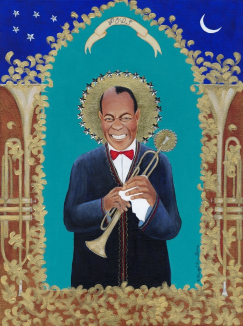 Pops (Louis Armstrong) limited edition fine art print