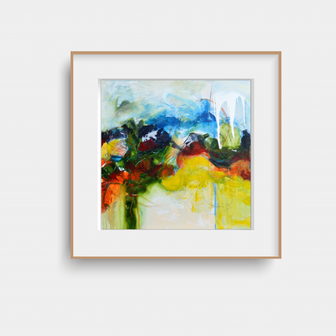Abstract Giclee Print Titled - 'Pride'