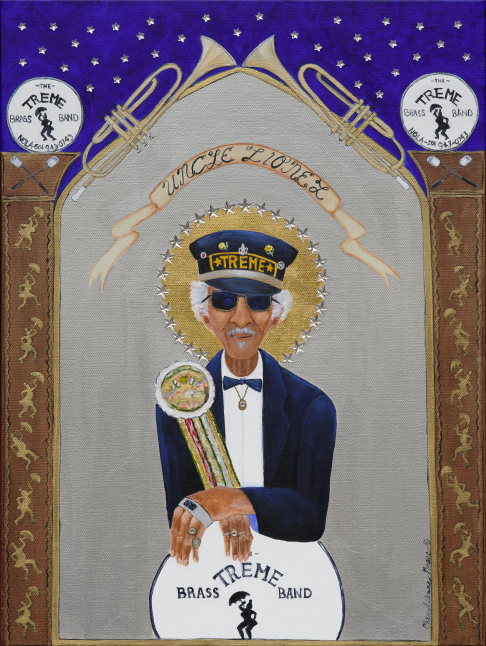 Uncle Lionel with Second Line limited edition print