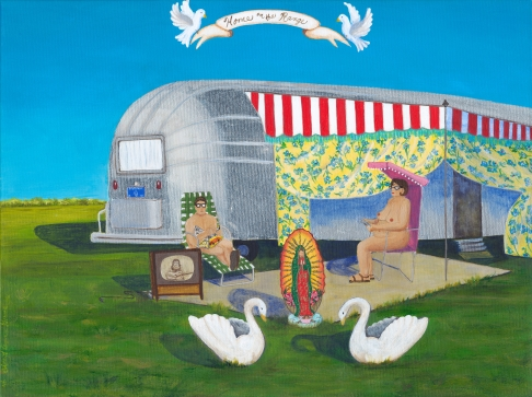 Portrait of an Airstream #1 limited edition print
