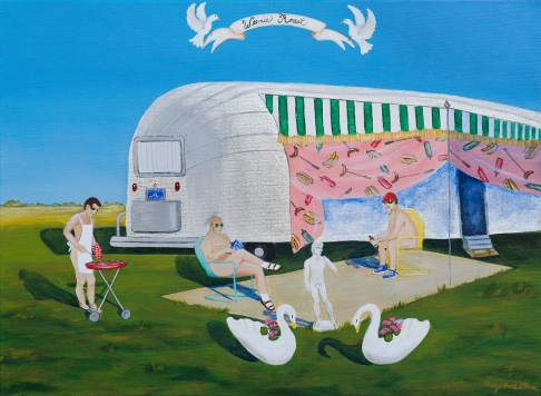 """Portrait of an Airstream #2"" limited edition print"