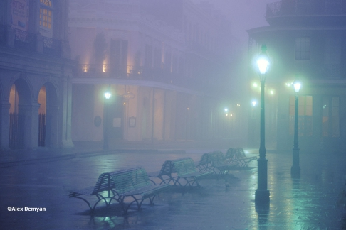 Foggy French Quarter