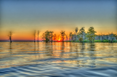Lake Maurepas Sunset
