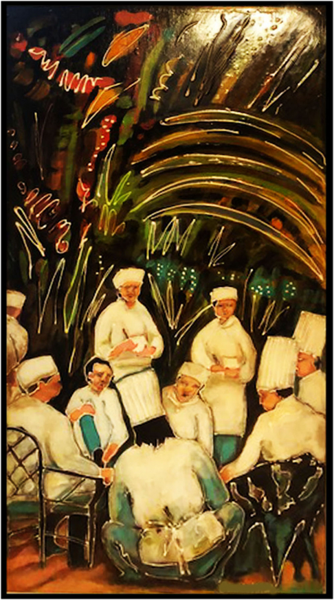 Meeting of the chefs