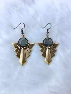 Arrow Hand Painted Earrings