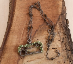 Oak Tree Necklace - Freshwater Pearl