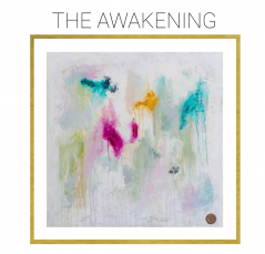 The Awakening - Archival Print of Mixed Media Abstract on Canvas