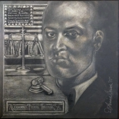 A. P. Tureaud, Sr. (Silverpoint)  - Times-Picayune/NOLA.com 300 for 300 Commission