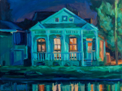 Night on Bayou St. John