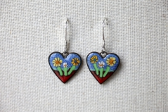 """I Love Gardening"" Earrings"
