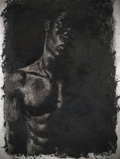 A Portrait of His Beautiful Blackness (Barna Black)