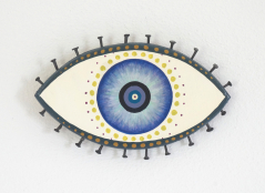 Evil Eye Talisman | Navy and Black - Small