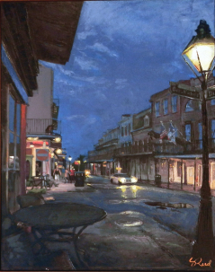 Decatur Street after the Rain