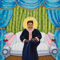 Pink Cadillac (Fats Domino) limited edition print