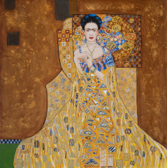 Channeling Klimt: Frida #2 | Limited Edition Print
