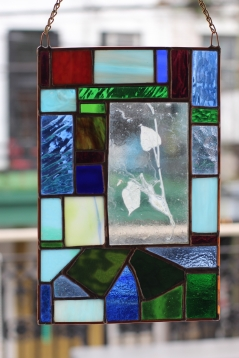 Morning Glory Enverre Stained Glass