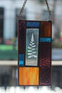 Stained Glass Fern Enverre
