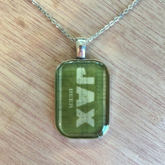 Jax Brewery Pendant Necklace