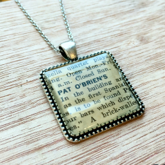 Pat O'Brien's Pendant Necklace