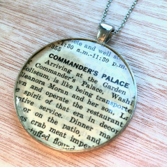 Commander's Palace Pendant Necklace