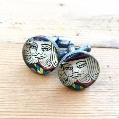 Playing Card Cuff Links