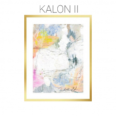 Kalon II - Archival Print of Mixed Media Abstract on Watercolor Paper