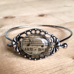 Summer Sheet Music Bracelet