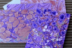Marbled Note Cards / Alexandrite